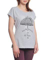 37662-8-1 футболка женская, серая
