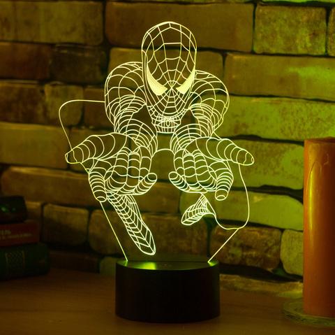 Ночник Человек паук #3