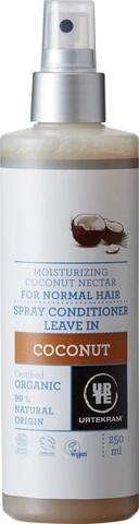 Urtekram Спрей-кондиционер для волос Кокос,  250 мл
