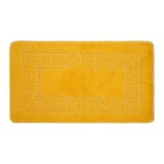 Коврик для ванной BANYOLIN 60х100 см ворс, желтый