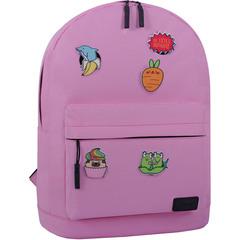Рюкзак Bagland Молодежный W/R 17 л. 140 розовый (00533662 Ш)