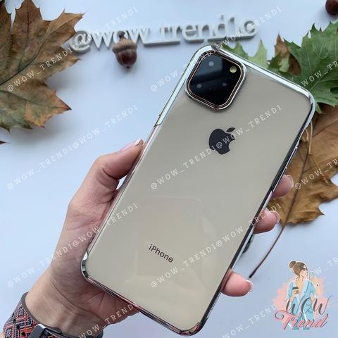 Чехол iPhone 11 Pro Max Baseus Shining Case /silver/