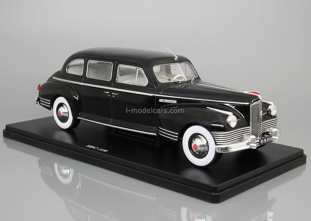 ZIS-110 black 1:24 Legendary Soviet cars Hachette #7