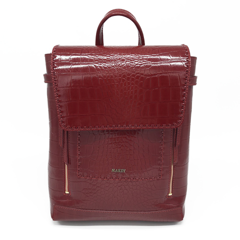 Рюкзак женский Makey, red Беларусь, фото 2