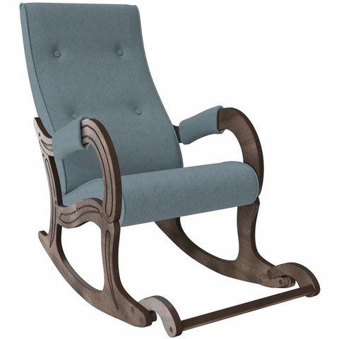 Кресло-качалка Комфорт Модель 707 орех антик/Montana 602, 013.707