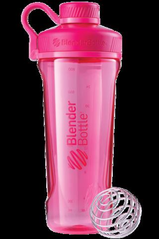 BlenderBottle Radian Tritan, 946мл 2в1 Шейкер и Бутылка с венчиком для спорта_Pink-малиновый 946 мл cat