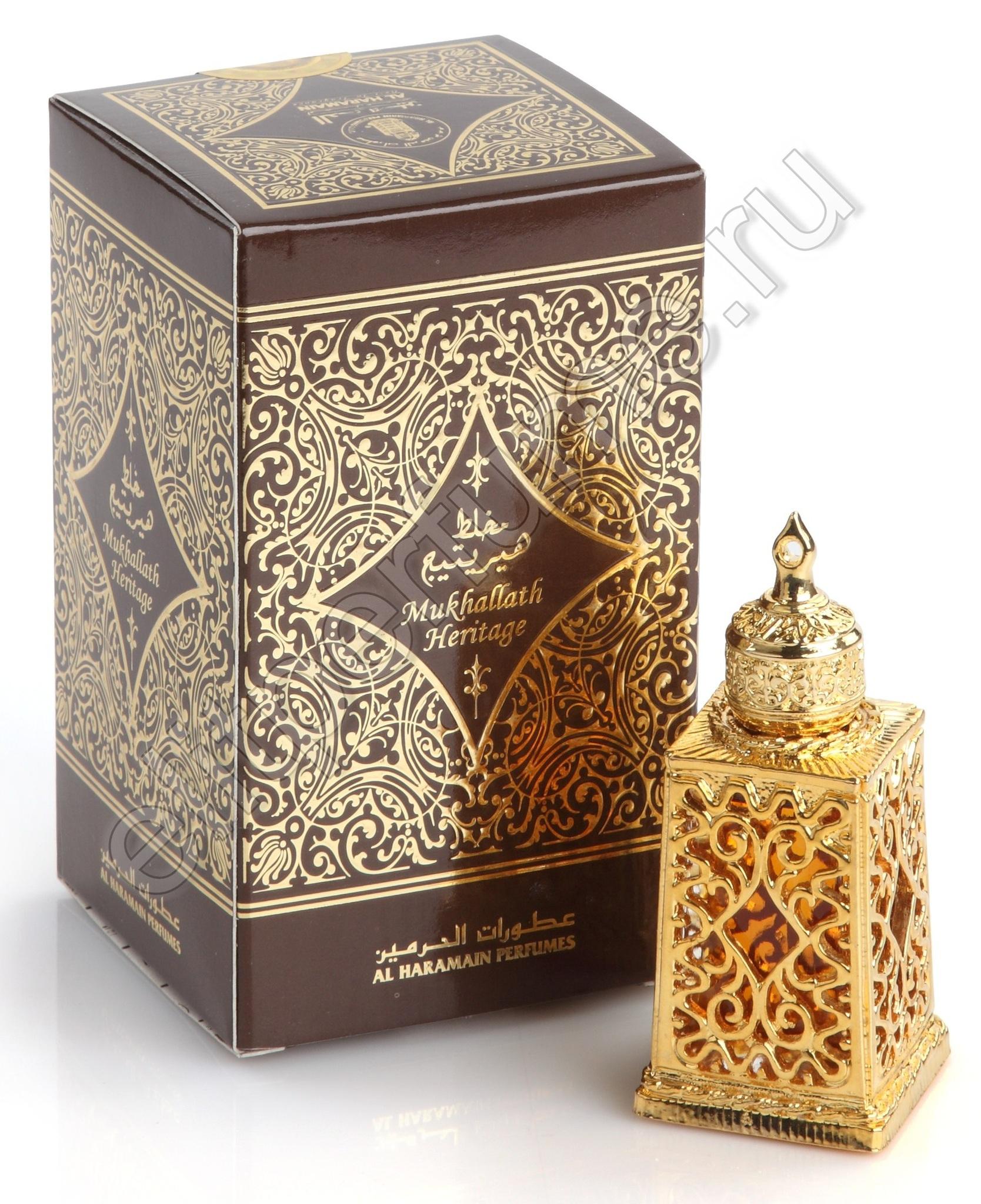 Мухаллат Херитейдж Mukhallath Heritage 12 мл арабские масляные духи от Аль Харамайн Al Haramain Perfumes