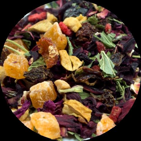 "Чай ""Веселый фрукт"" (каркаде, шиповник, ягоды, фрукты) 50 гр"