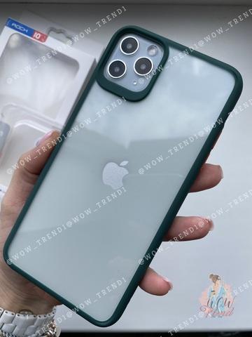 Чехол iPhone 11 Pro Max Rock Guard Series /green orange/