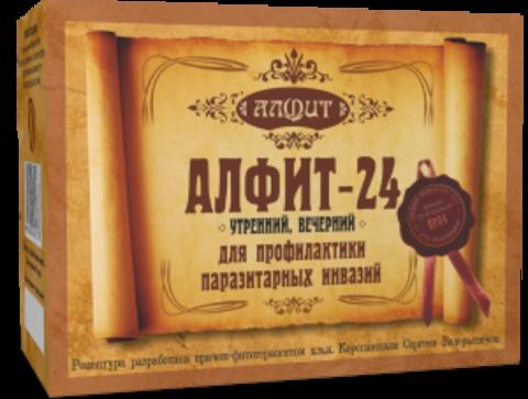 Фитосбор Алфит-24 Противопаразитарный, 60 ф/п*2г