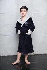 Athletic Junior СИНИЙ  халат для мальчика подростково-детский / Five Wien (Турция)