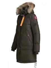 Пуховик Parajumpers Long Bear Bush (Зелено-коричневый)