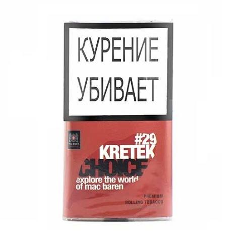 Табак M.B.сигарет. KRETEK CHOICE (p40gr)