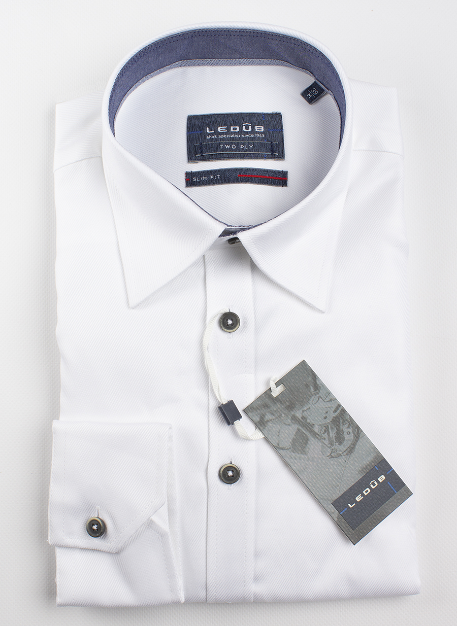 Рубашка Ledub slim fit 0137467-910-180-171