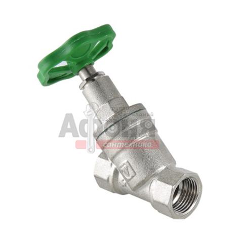 Вентиль прямоточный VALTEC запорно-регулировочный 3/4 (VT.052.N.05)