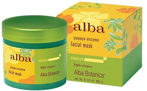 Энзимная маска с ферментами папайи, Alba Botanica