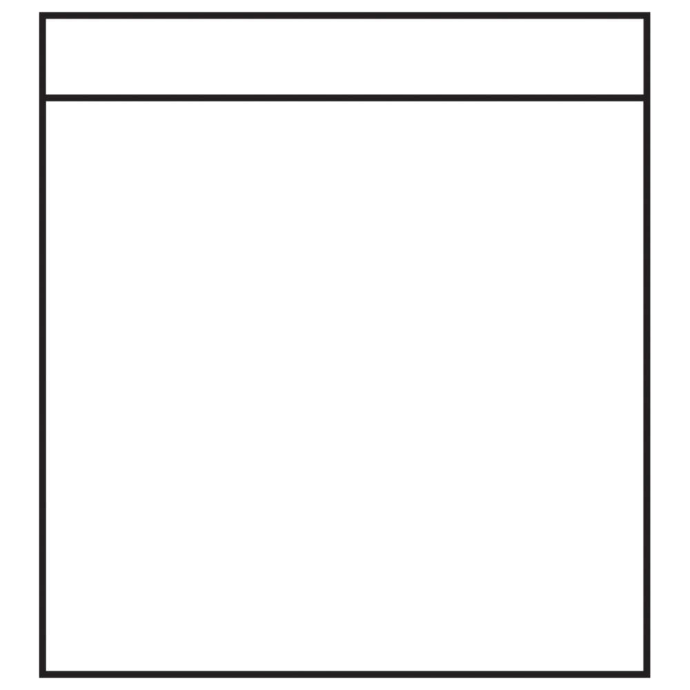 Фотофайлы-кармашки 10x10 см
