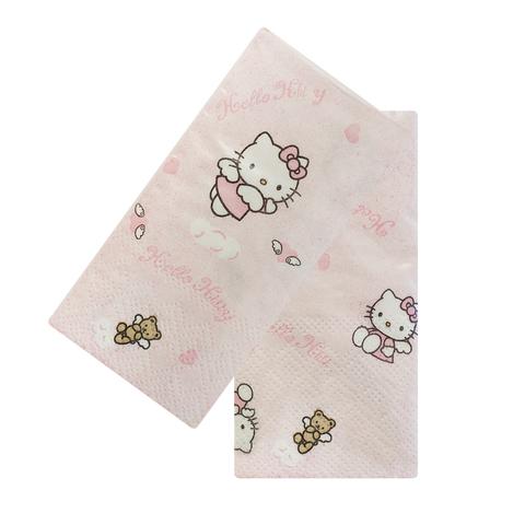 Платочки бумажные Hello Kitty Pink