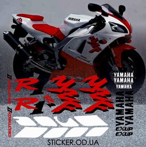 Набор виниловых наклеек на мотоцикл YAMAHA YZF-R1 1998