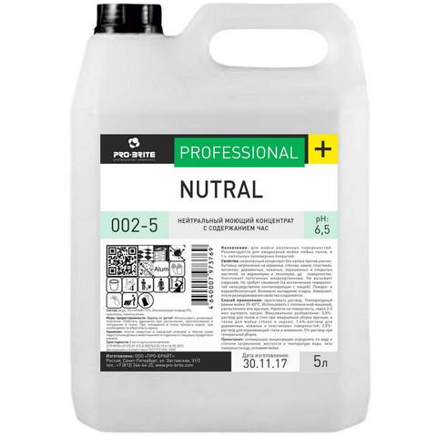 Профессиональная химия Pro-Brite Nu-Tral 5л (002-5),дез.ср-во с моющэффект
