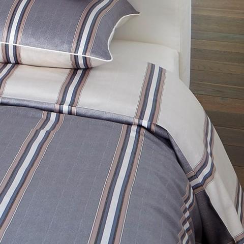 Постельное белье 1.5 спальное Elegante Cascade серое