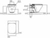 Унитаз подвесной Ideal Standard Tonic II K316701