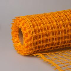 Сетка крупная желтая 5м*50см