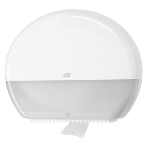 Диспенсер для туалетной бумаги Tork Т1 в бол. рул. 554000 белый