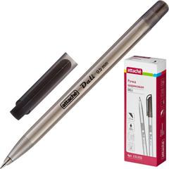 Ручка шариковая Attache Deli 0,5мм черный маслян.основа Россия