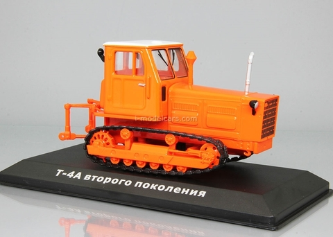 Tractor T-4A second generation orange 1:43 Hachette #79