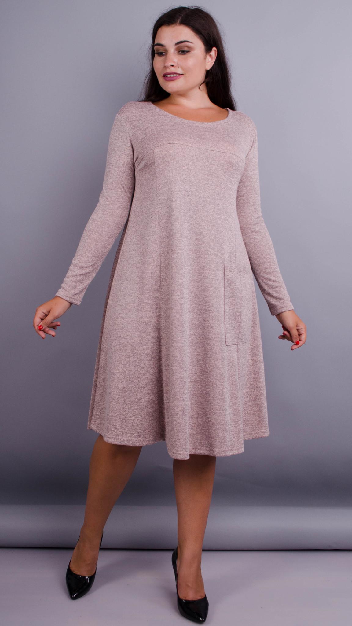d2d43a100297bed Альбина. Платье на каждый день больших размеров. Аквамарин., купить ...
