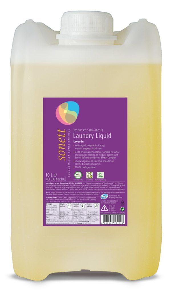 Жидкость для стирки Лаванда Sonett, 10 л