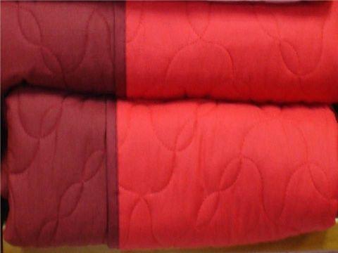 Покрывало 220x270 Caleffi Mix Double красное
