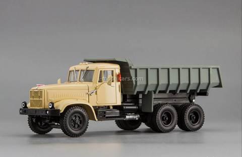 KRAZ-257B 1969-1977 beige gray 1:43 Nash Avtoprom