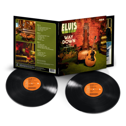 Elvis Presley ‎/ Way Down In The Jungle Room (2LP)