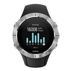Спортивные часы Suunto Spartan Trainer Wrist HR Steel SS023425000