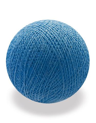 Хлопковый шарик синий