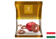 Яблочные чипсы в молочном шоколаде, 50г
