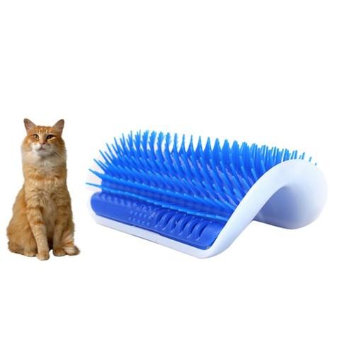 Щетка угловая Pet Cat для кошек