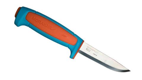 Нож Morakniv Basic 511 углеродистая сталь, синий