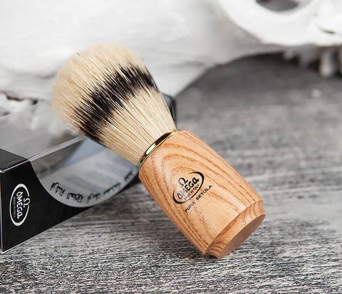 Помазок из щетины кабана с деревянной ручкой