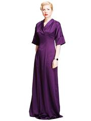 P302-85 платье баклажан