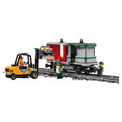 Конструктор LEGO City Trains Товарный поезд 60198