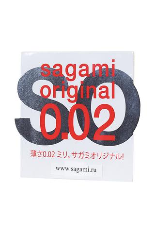 Презервативы Sagami Original 0.02  УЛЬТРАТОНКИЕ,гладкие №1 фото