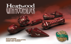 Wizard Set: Heartwood & Moonsilver