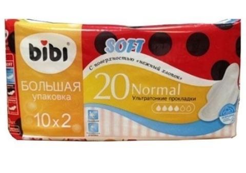 Bibi прокладки Нормал Софт 20 шт