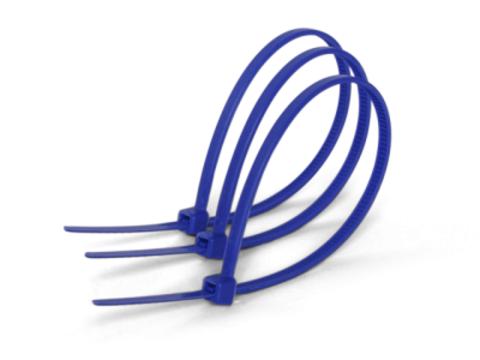 Хомуты нейлоновые 2,5х100мм (синий) (25 штук) TDM