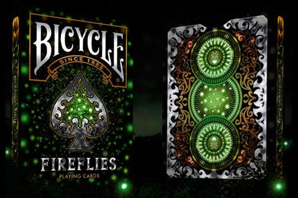Карты Bicycle Fireflies - Светлячки