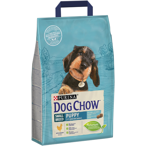 Dog Chow® Puppy Small (Дог Чау Паппи Смол). С курицей.