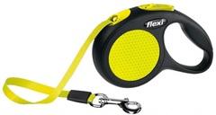 Flexie New Neon Safety рулетка лента 5м для собак до 25кг